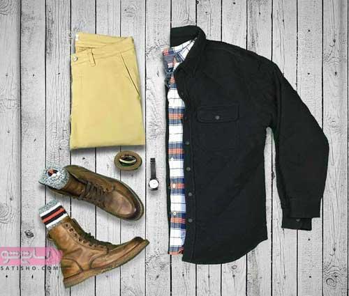 ست پیراهن و بوت مردانه