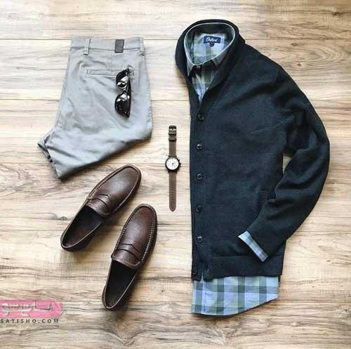 مدل لباس مردانه رسمی و اسپرت شیک
