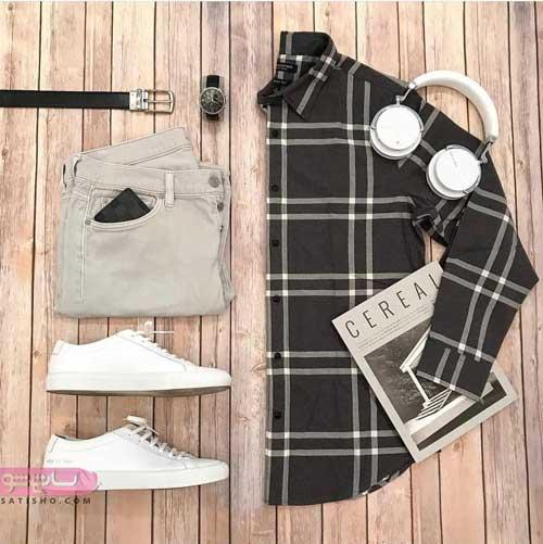 ست لباس مردانه اسپرت پاییزه