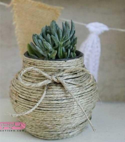 گلدان لاکچری جدید
