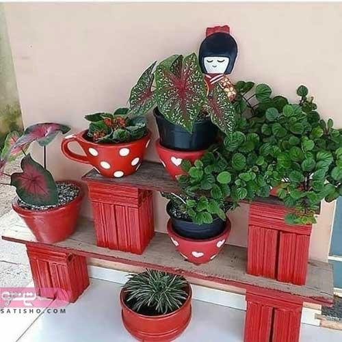گلدان های خلاقانه در منزل