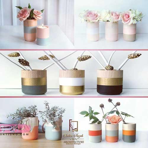 شیک ترین مدلهای گلدان