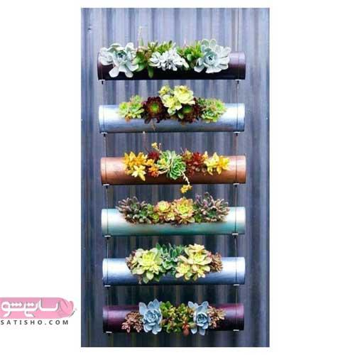 ایده های خلاقانه در منزل برای گلدان