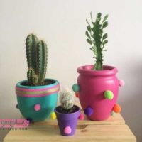 ایده های خلاقانه برای تزیین گلدان | بهترین روش های استفاده بهینه از گلدان در منزل
