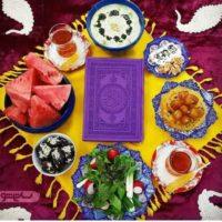 ۵۰ مدل جدید از عکس تزیین سفره افطار ماه رمضان ۹۸ برای کدبانوی ایرانی