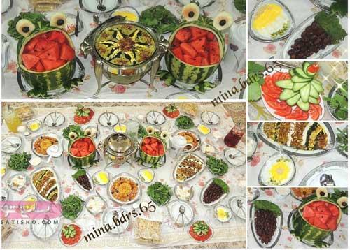 میوه آرایی برای سفره افطاری ماه رمضان