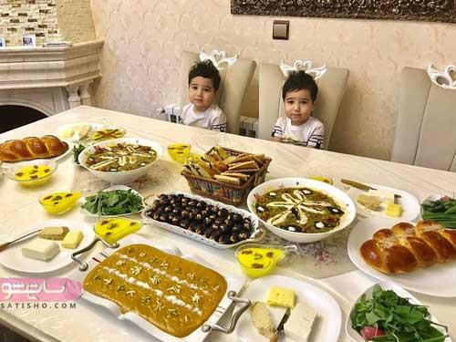 وسایل سفره افطار مجلسی