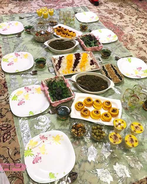 عکس شام بعد از افطار