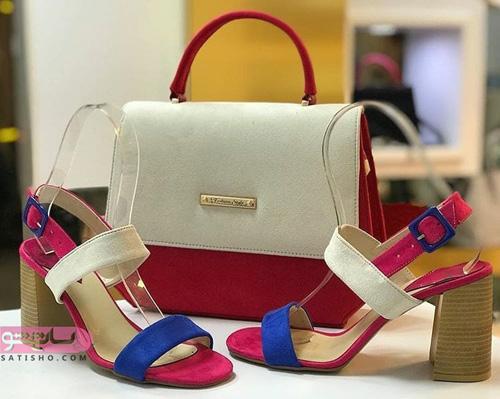 مدلهای کیف و کفش ست جدید