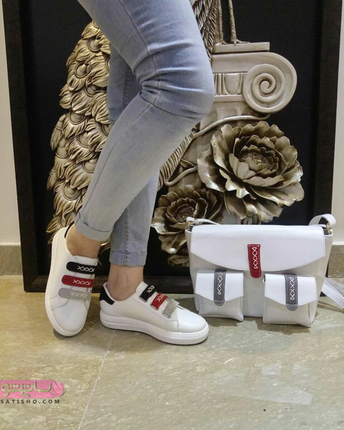 عکس کیف و کفش ست اسپرت دخترانه