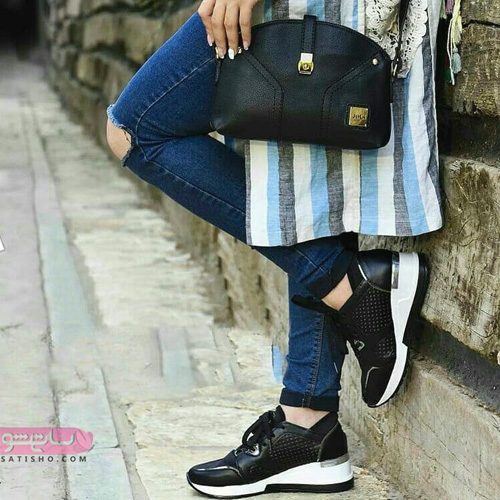 مدل کیف و کفش ست 1398 با مانتو اسپرت