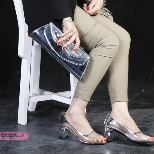 انواع ست کیف و کفش زنانه شیک مجلسی 1398