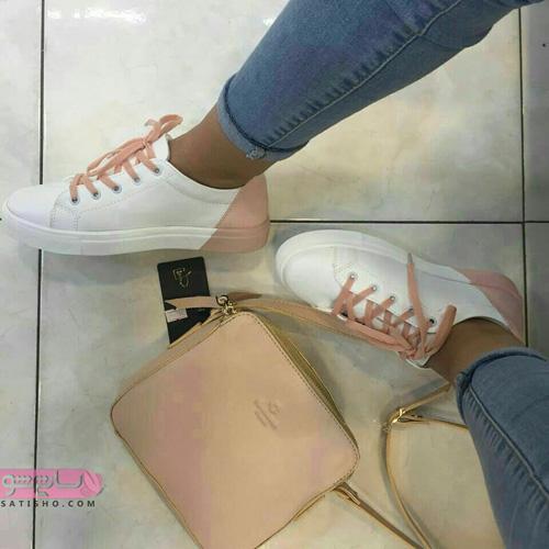 ست های شیک کیف و کفش زنانه