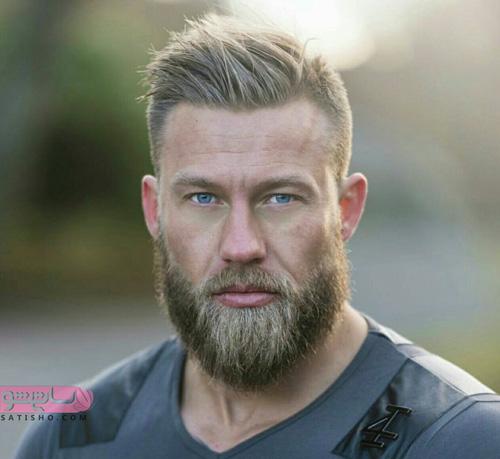 تصاویر مدل مو پسرانه با ریش بلند