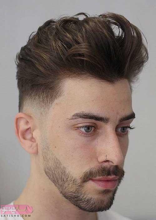 انواع مدل مو مردانه برای صورت کشیده 98 و 2019