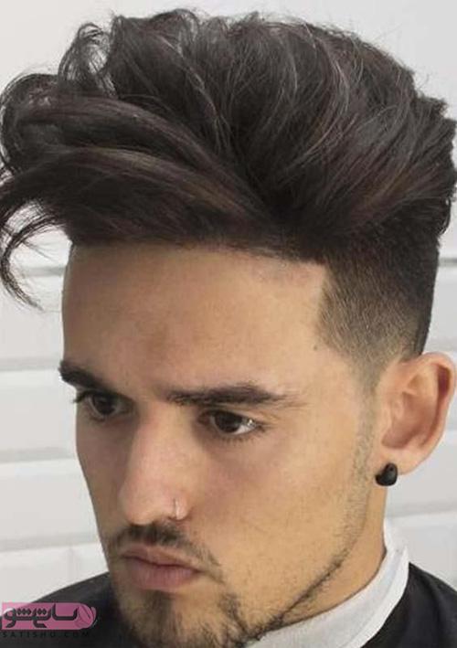 انواع مدل مو مردانه برای موهای کم پشت 98 و 2019