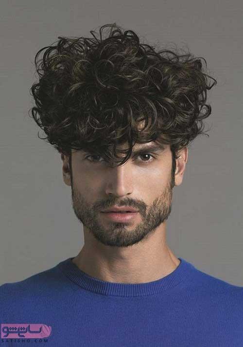انواع مدل مو مردانه برای موهای خشک 98 و 2019