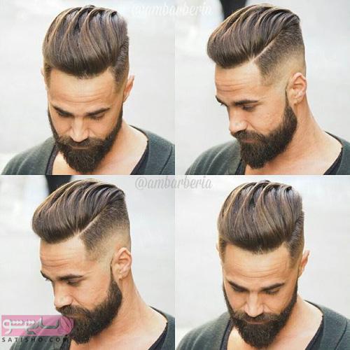تصاویر مدل مو پسرانه خامه ای