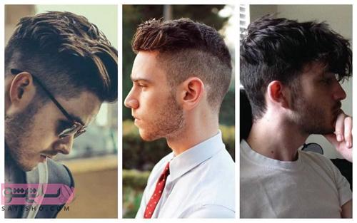مدل مو پسرانه جدید سایه روشن در سه حالت