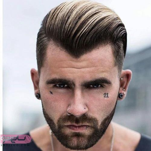 انواع مدل مو کوتاه مردانه جدید
