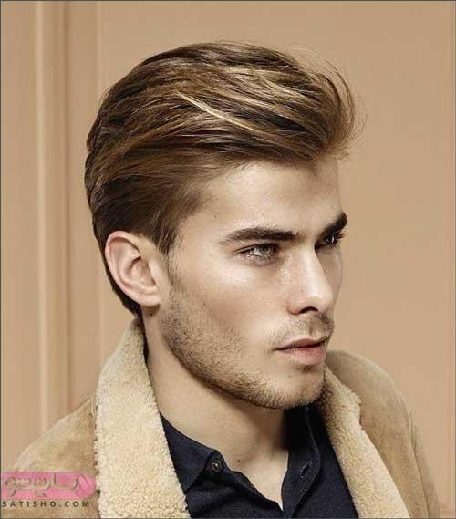 انواع مدل مو مردانه برای موهای کم پشت