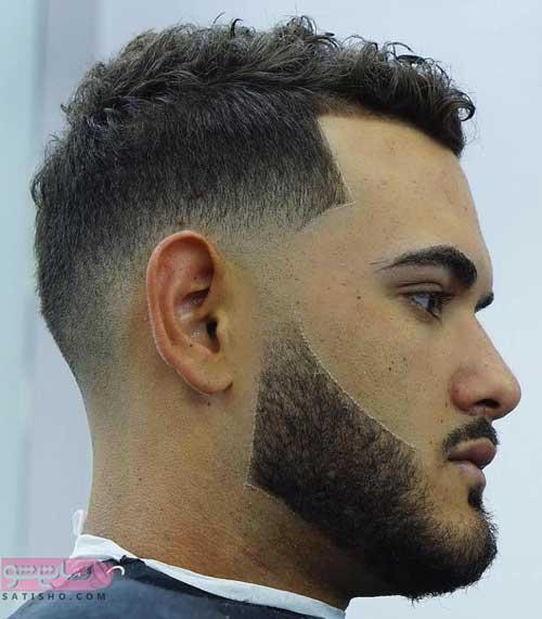 انواع مدل مو مردانه برای صورت کشیده