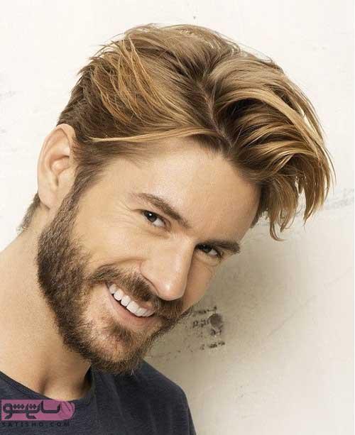 انواع مدل مو مردانه با ریش