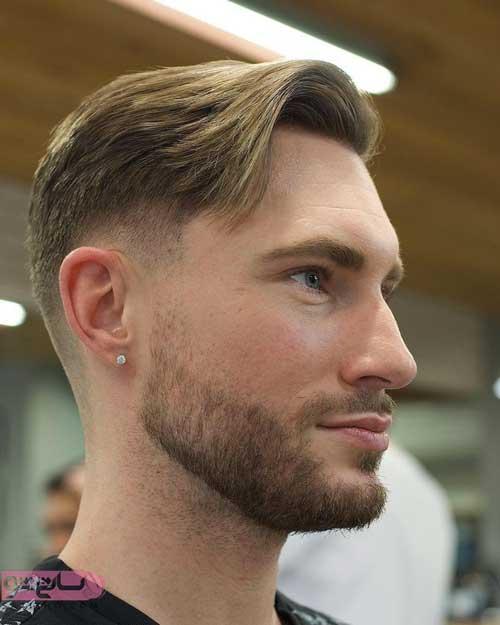 مدل مو جدید مردانه برای صورت گرد