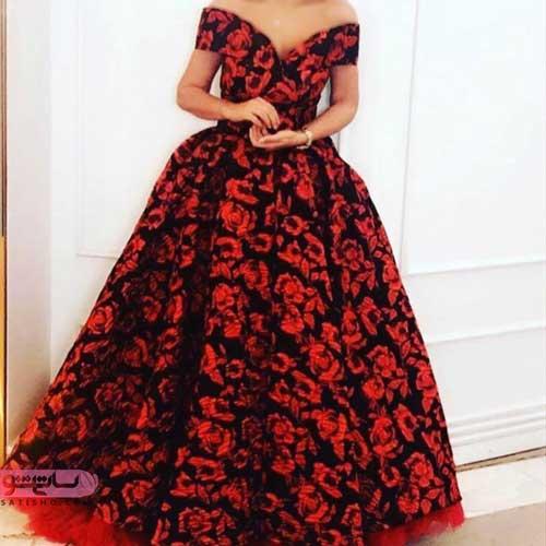 لباس خوشگل دخترانه طرح گلدار