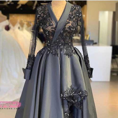 تصاویری از مدل لباس مجلسی بلند و کوتاه دخترانه