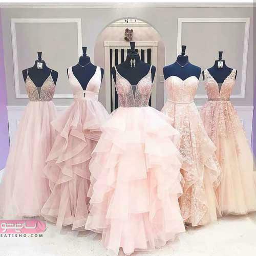 لباس مجلسی بلند زیبا دخترانه در چند طرح متنوع