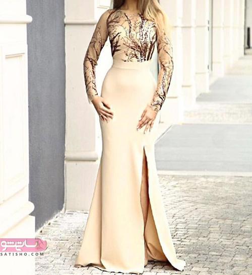 جدیدترین مدل لباس مجلسی بلند پوشیده