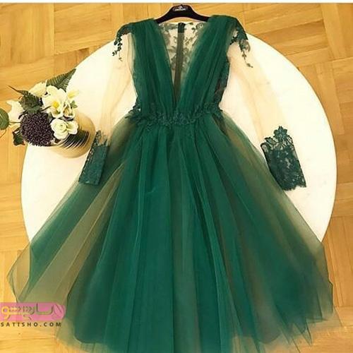 لباس مجلسی بلند خیلی زیبا