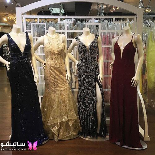 لباس زنانه براق مخصوص مد سال 2019