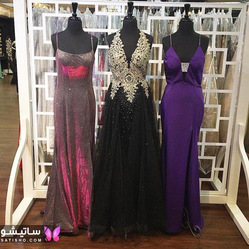 خرید مدل لباس مجلسی دخترانه بلند