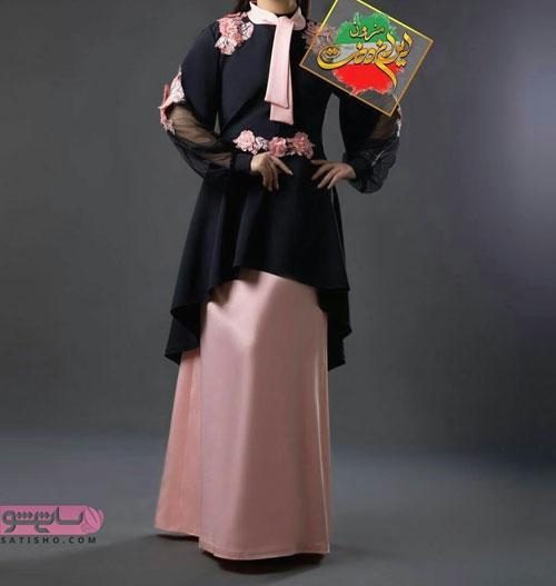 مدل مانتو بلند شیک زیبا