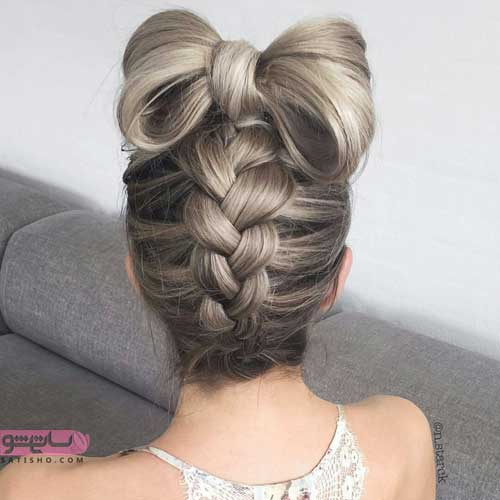عکس مدل بافت مو برای موهای کوتاه
