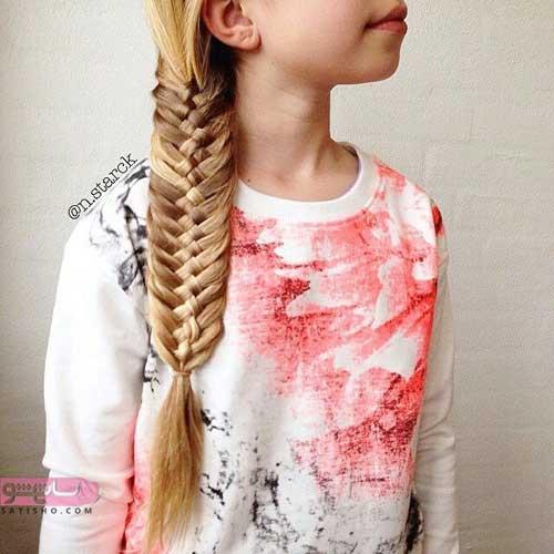 عکس مدل بافت مو با مهره