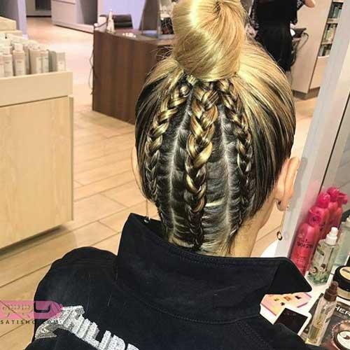 مدل بافت موی کوتاه بچه گانه 98 و 2019