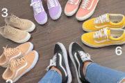50 عکس کفش اسپرت دخترانه جدید 2019 متناسب با رنگ سال