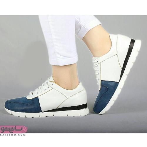 عکس جدیدترین کفش های اسپرت دخترانه دو رنگ جذاب