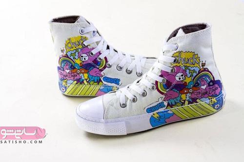کفشهای اسپرت دخترانه شیک و فشن