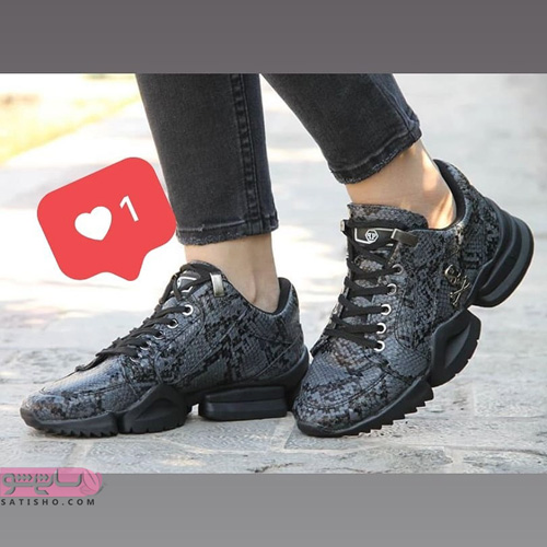 مدل کفش اسپرت دخترانه لژدار