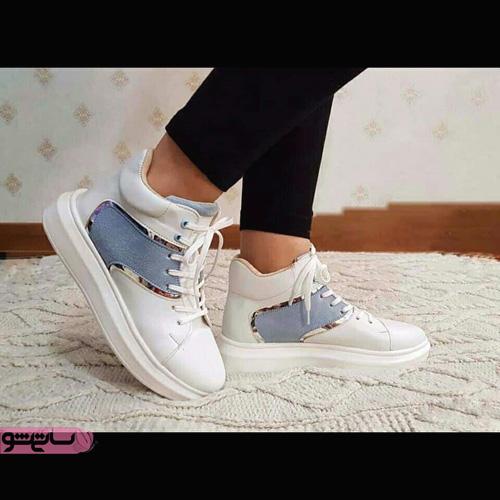 عکس کفش اسپرت دخترانه جدید شیک