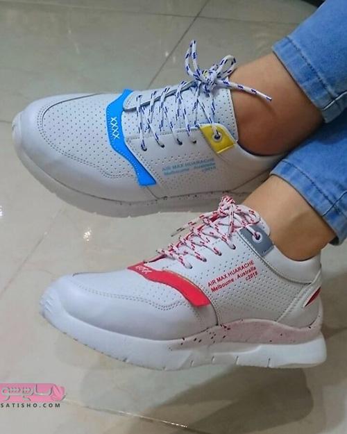 خرید اینترنتی کفش اسپرت دخترانه لژدار