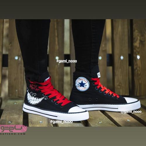 جدیدترین کفش اسپرت لژدار دخترانه