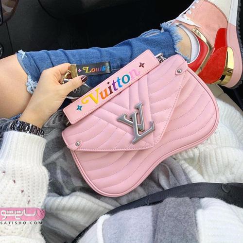 مدل کیف مجلسی زنانه چرم دست دوز
