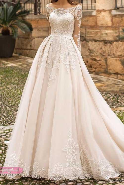 انواع لباس عروس جدید شیک