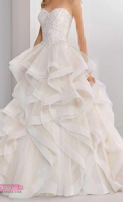 انواع لباس عروس جدید ایرانی لختی