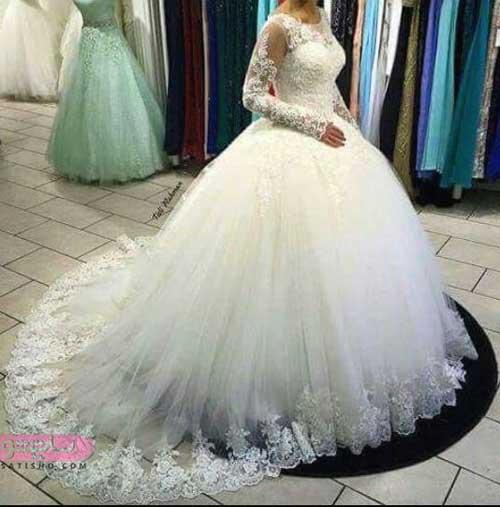 جدیدترین مدل لباس عروس شیک پفی